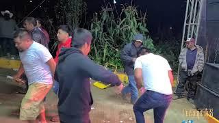 zapateando con los Perseguidos de san juan en Santa Maria Yucunicoco