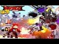 Minecraft LEGO NINJAGO - THE EVIL MECHA WU IS TOO POWERFUL FOR THE NINJAGO!!