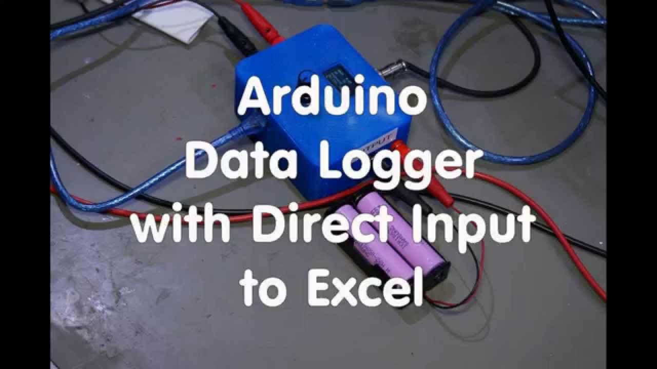 #9 Arduino Data Logger with Direct Input to Excel