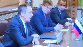 Переговоры С.Лаврова и Э.Мамедъярова