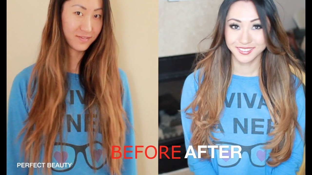 How To Get Ombre Hair Instantly With My Fantasy Hair Extensions