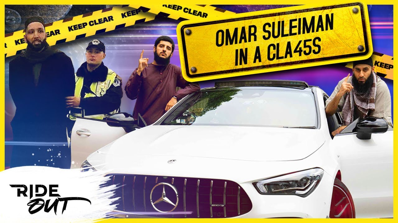 """#7 """"Omar Suleiman"""" In A CLA45s    Ride Out"""