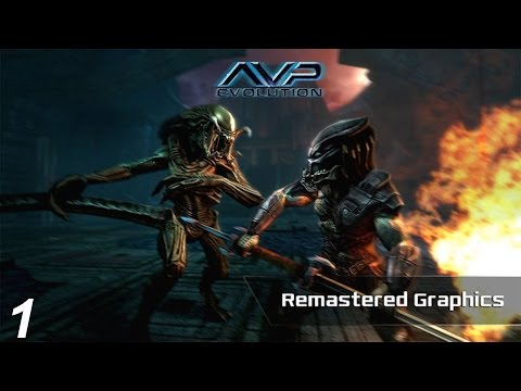 ALIENS VS. PREDATOR EVOLUTION - Part 1 WALKTHROUGH -IPAD, IPNONE,GOOGLE PLAY
