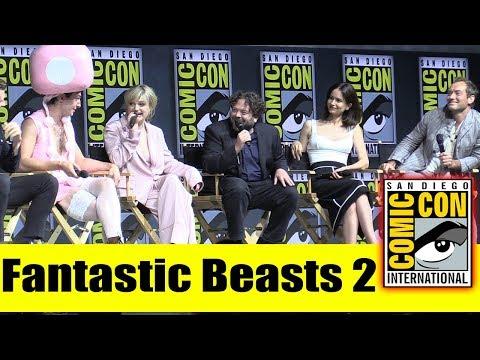 Fantastic Beasts 2 | Comic Con 2018 Full Panel (Eddie Redmayne, Johnny Depp, Jude Law, Ezra Miller)