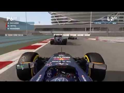 F1 2014 Gameplay Abu Dhabi 100% Race Sebastian Vettel » TGC