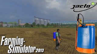 Farming Simulator 2013! Encosto nas costas!