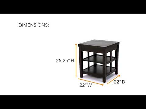 Product Video: Charleston End Table  Wg&r Furniture