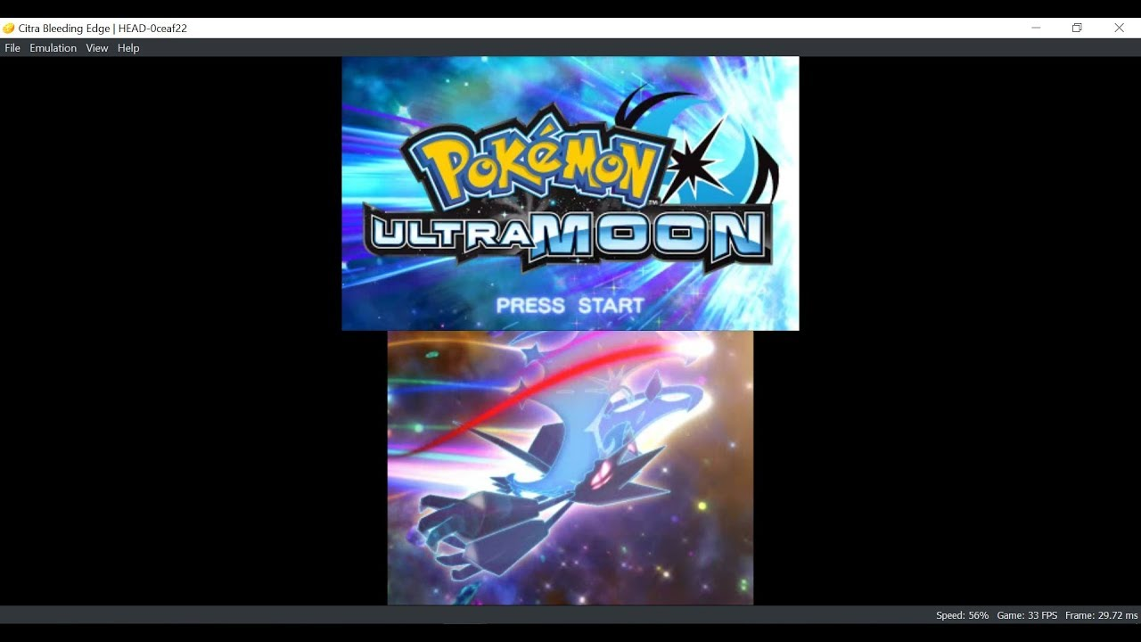 pokemon ultra moon rom