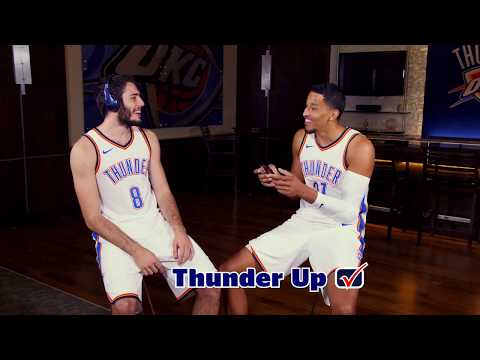 Whisper Challenge with the Oklahoma City Thunder | U.S. Cellular