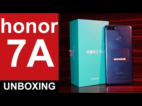 Honor 7A Unboxing Snapdragon Powered Launched In India For Rs. 8,999