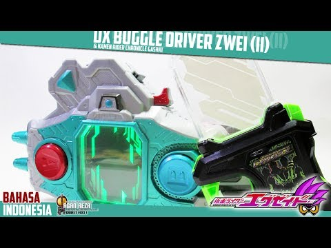 DX REVIEW - DX BUGGLE DRIVER ZWEI & KAMEN RIDER CHRONICLE GASHAT - [BAHASA INDONESIA]