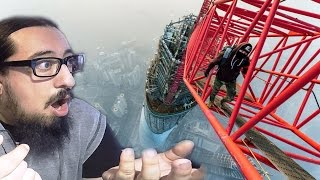 Urban Climbing Compilation REACTION