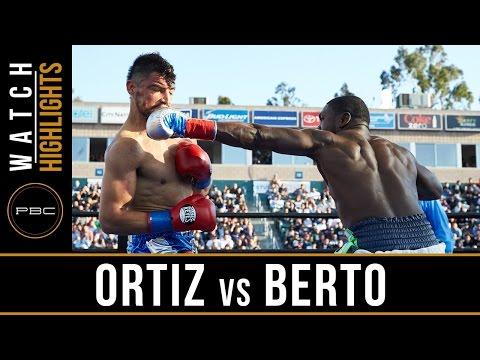 Ortiz vs Berto HIGHLIGHTS: April 30, 2016 - PBC on FOX