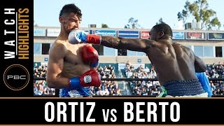 Ortiz vs Berto HIGHLIGHTS: April 30, 2016 - PBC on FOX