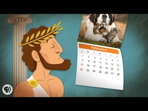 Video image: Why does February only have 28 days?