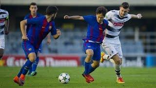 [HIGHLIGHTS] UEFA Youth League: FC Barcelona - Borussia Mönchengladbach(1-2)