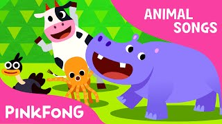 Animal Action | Animal Songs | PINKFONG Songs for Children