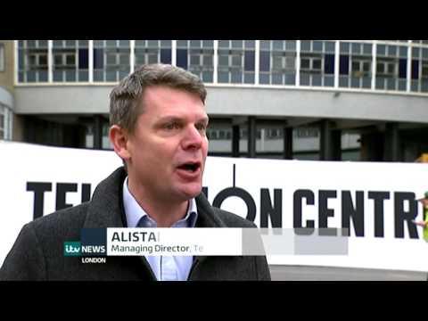 BBC Television Centre - Demolition begins!