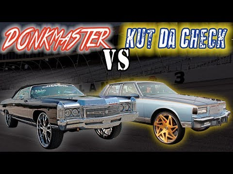 DONKMASTER VS KUT DA CHECK :  SIDE BY SIDE COMPARISON @ Street Beast Car Show –  2018???