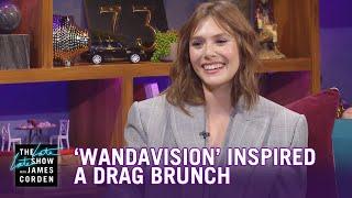 Elizabeth Olsen's 'WandaVision' Inspired a Drag Brunch