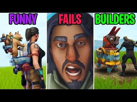 New Legendary Loot Llamas! FUNNY vs FAILS vs BUILDERS - Fortnite Funny Moments