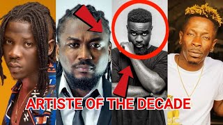 SARKODIE WINS ARTISTE OF THE DECADE AT THE VGMA 2019