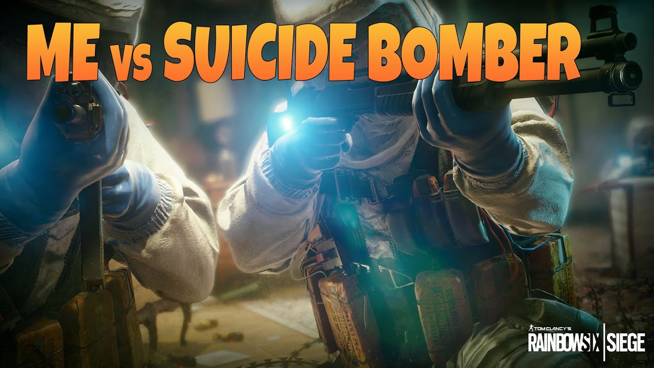 Me vs suicide bomber rainbow six siege youtube - Rainbow six siege disable bomber ...