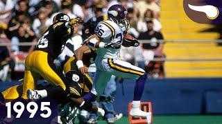 Shootout at Three Rivers - Vikings vs. Steelers (Week 4, 1995) Classic Highlights
