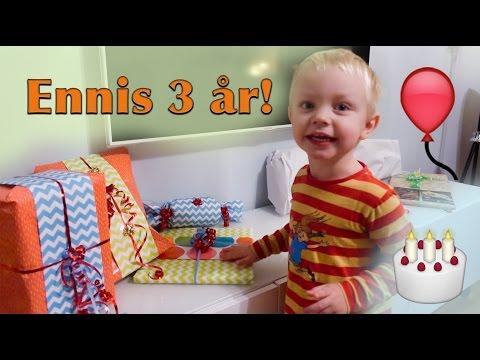 Ennis födelsedag och kalas! + Gravid v16