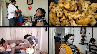 Indian Moms Morning Routine | Breakfast preparation | Lunch Preparation | House cleaning | laundry