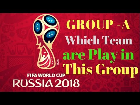 FIFA World Cup Russia 2018 || FIFA World Cup 2018 || Final Draw of  Groups - A || Russia |