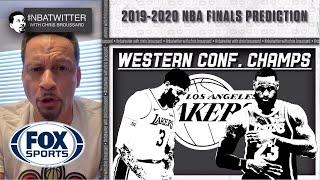 Chris Broussard makes his NBA Finals Prediction | FOX SPORTS