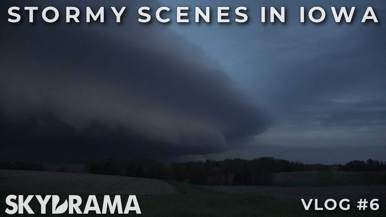 STORMY SCENES IN IOWA | May 14th 2020 | HP Outflow Dominant Supercell near Oskaloosa, IA