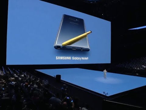 Samsung Galaxy Note 9 unveiled at mega NYC event | ETPanache
