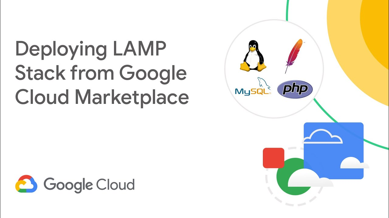Deploying LAMP Stack from Google Cloud Marketplace