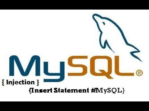 SQLi In INSERT Statement
