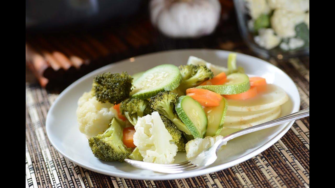 Verduras al vapor como cocinar youtube for Cocinar zanahorias al vapor