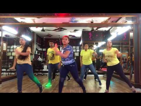 Oh ho oh ho| Hindi medium | tare gin gin yaad | zumba routine