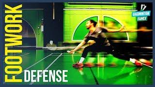 How To Straight Smash Return, Singles, Badminton