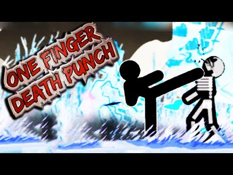 CRAZIEST GAME EVER! | One Finger Death Punch