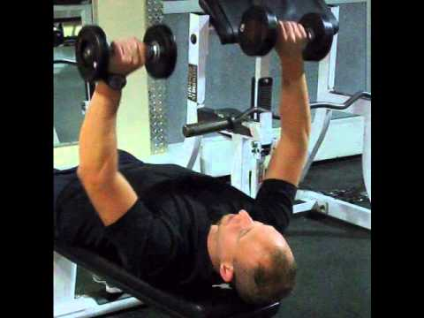 Bench Press dumbell flat bench Converted