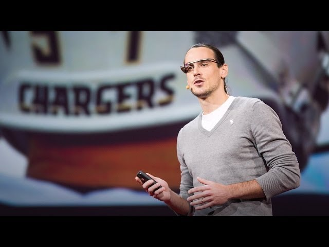 【TED】Chris Kluwe: How augmented reality will change sports ... and build empathy (Chris Kluwe: How augmented reality will change sports ... and build empathy)