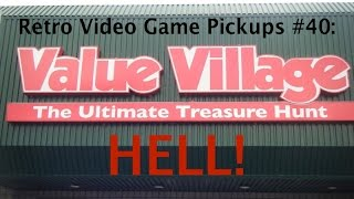 retro video game pickups 40 value village hell