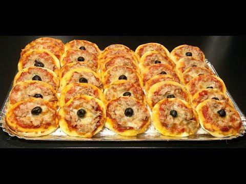 les-mini-pizza-au-thon