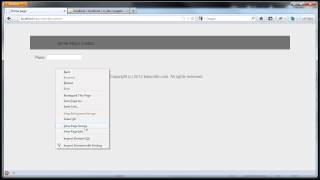 CodeIgniter Tutorials: Basic Website - Contact Page (Form Helper) (Part 6/8)