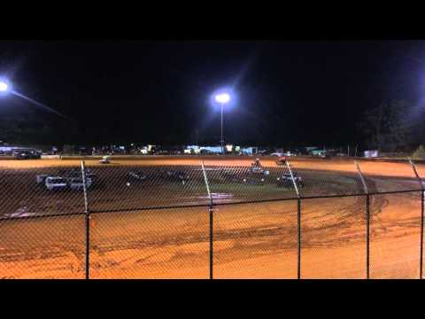 Carolina Race Saver Sprint Cars Harris Speedway Forest City, NC July 18th 2015