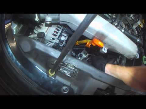 VW A4: Beetle 1.8T Turbo removal Part 1