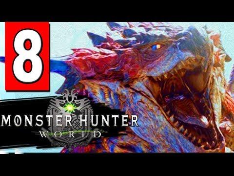Monster Hunter World: Walkthrough Part 8 - ATTACK WEAKEN ZORA MAGDAROS