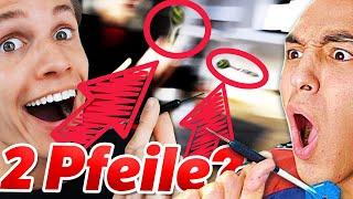 """DART er das? 😂 """"kleiner"""" Fehler von Artus Weichert & Fatih Brate! Wirft Concrafter DARTPFEIL?"""