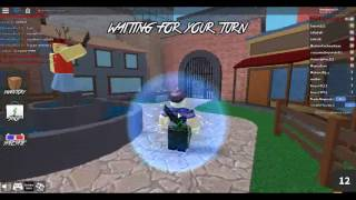 Murder Mystery 2 ROBLOX playing whith my brother